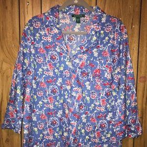 Lauren Ralph Lauren Women's Shirt Size Xl